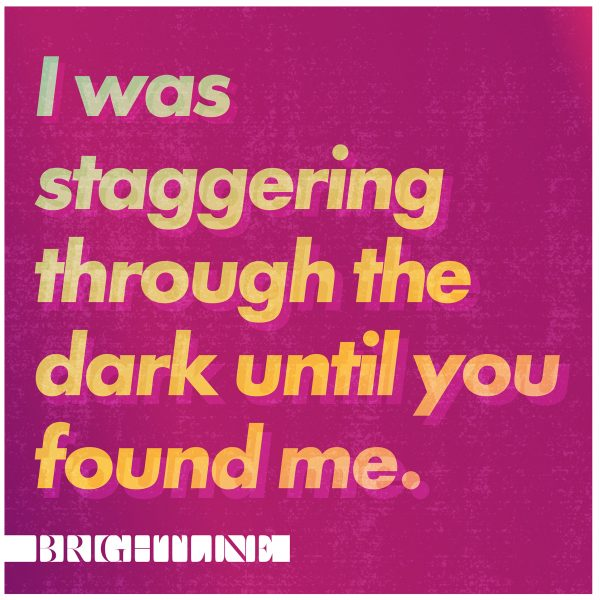 I Was Staggering Through The Dark Until You Found Me CD
