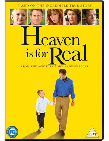 Heaven Is For Real DVD - Sony Pictures Home Entertainment - Re-vived.com