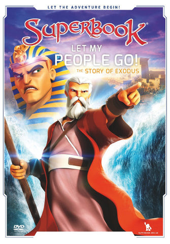 Superbook: Let My People Go! DVD