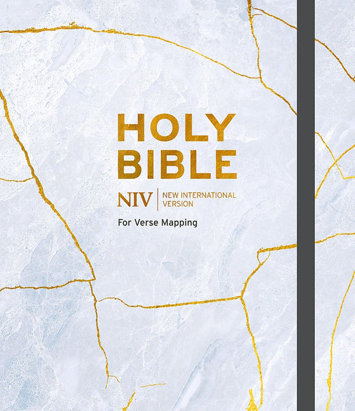 NIV Verse Mapping Bible Grey