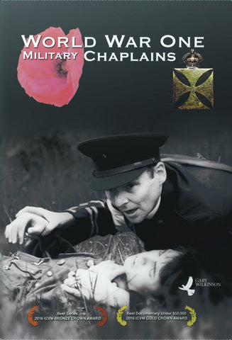 World War One Military Chaplains DVD - Gary Wilkinson Productions - Re-vived.com