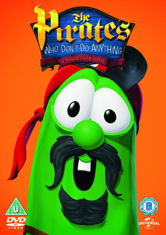 VeggieTales: The Pirates Who Don't Do Anything - The Movie DVD - VeggieTales - Re-vived.com