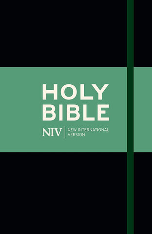 NIV Thinline Bible - Black