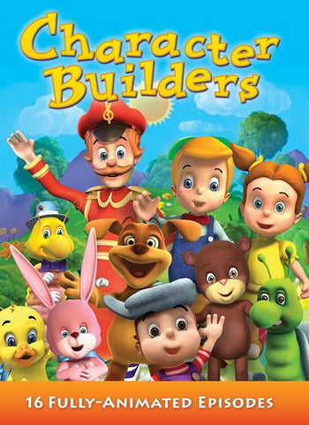 Character Builders - Eight DVD Set - Various Artists - Re-vived.com