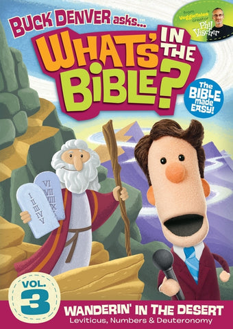 What's In The Bible Vol. 3: Wanderin' in the Desert DVD - Phil Vischer - Re-vived.com
