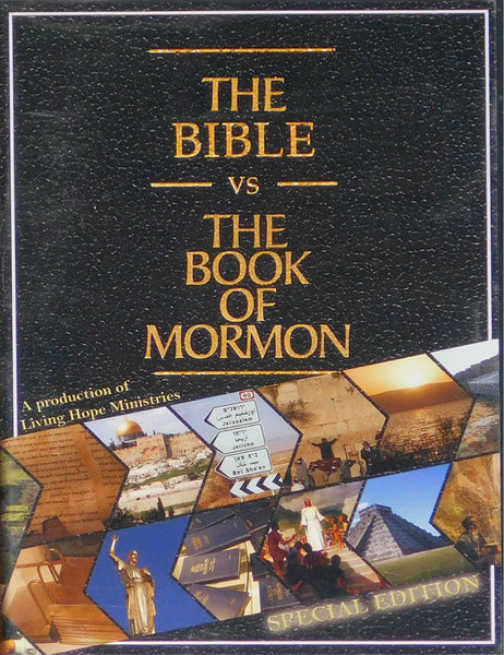 THE BIBLE VS THE BOOK OF MORMON DVD