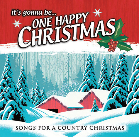 ITS GONNA BE ONE HAPPY CHRISTMAS CD - Classic Fox Records - Re-vived.com