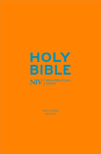 NIV Pocket Cyan Soft-Tone Bible With Zip