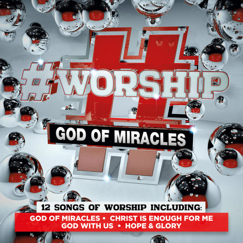 #Worship - God Of Miracles CD