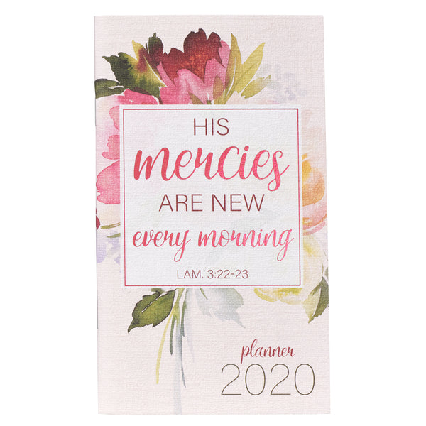 2020 Small Planner: His Mercies Are