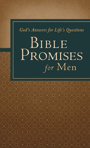 Bible Promises For Men Paperback Book