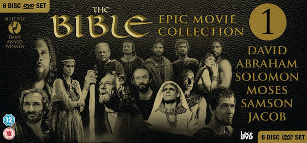 THE BIBLE EPIC MOVIES VOL 1