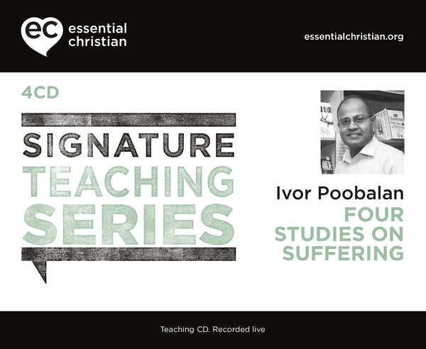 Suffering: Signature Teaching Series 4 Talk Audio CD Pack