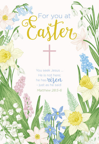 Easter Cards: For You At Easter (5 Pack)