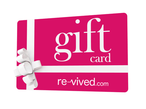 Re-vived Gift Card