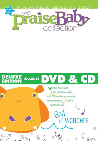 Praise Baby: God Of Wonders Deluxe Edition CD+DVD - Praise Baby - Re-vived.com