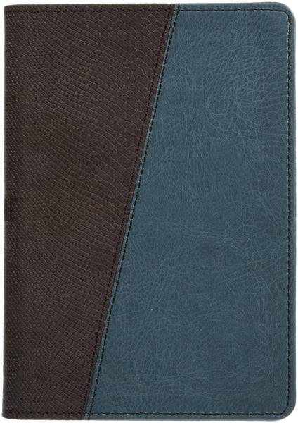 The Message Compact Bible, Teal/Brown