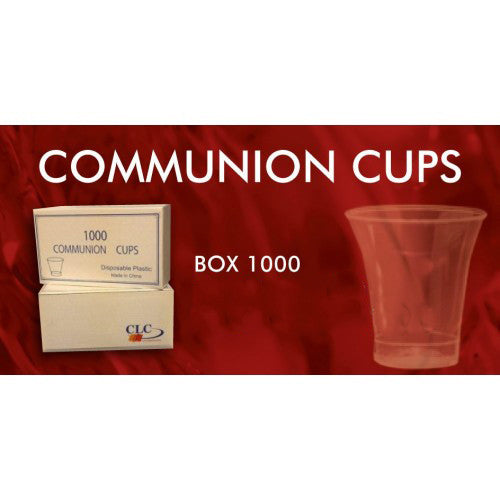 Communion Cups - Pack of 1000