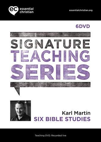 Six Bible Studies: Signature Teaching Series 6 Talk DVD Pack