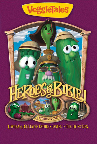 VeggieTales: Heroes Of The Bible Vol.1 DVD - VeggieTales - Re-vived.com