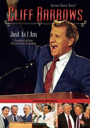 Just As I Am: The Music Of The Billy Graham Crusades DVD - Cliff Barrows - Re-vived.com