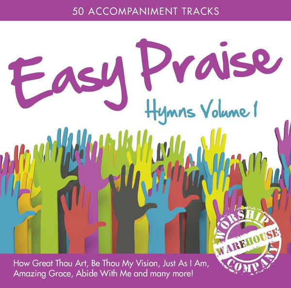 EASY PRAISE HYMNS VOLUME 1 2CD