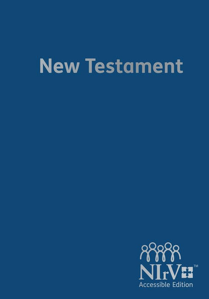 NIrV Accessible Edition New Testament Hardback Edition