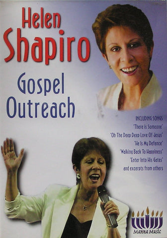 Helen Shapiro - Gospel Outreach - Manna Music - Re-vived.com