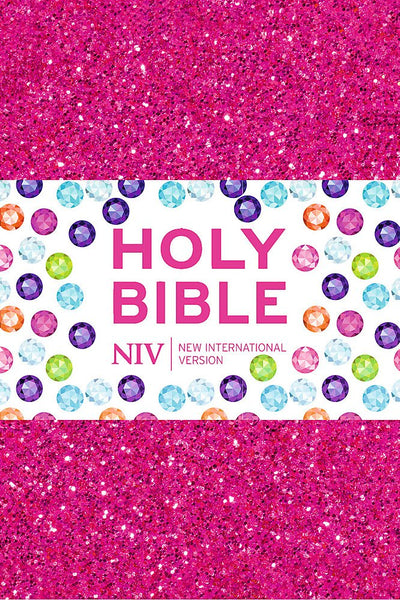 NIV Ruby Pocket Bible: Pink Glitter