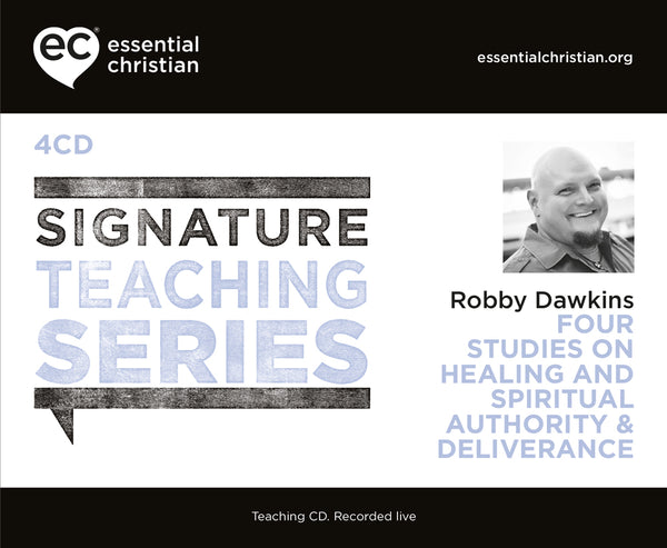 Healing and Spiritual Authority & Deliverance: Signature Teaching Series 4 Talk Audio CD Pack