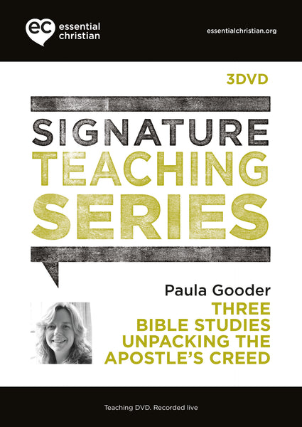 Apostle's Creed: Signature Teaching Series 3 Talk DVD Pack
