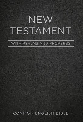 CEB Pocket New Testament with Psalms and Proverbs