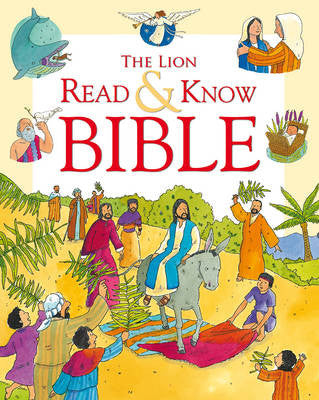 The Lion Bible to Read and Know - Sophie Piper, Anthony Lewis - Re-vived.com