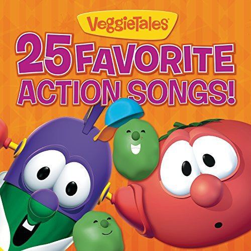 25 Favourite Veggie Action Songs CD