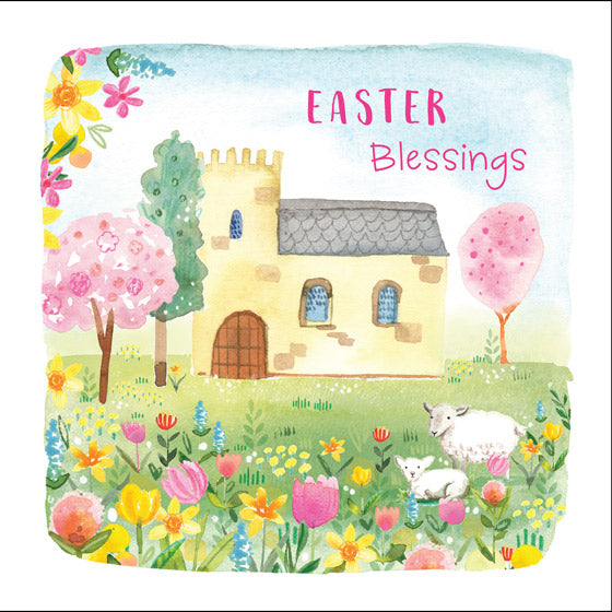 Compassion Charity Easter Cards: Easter Blessings (5 Pack)
