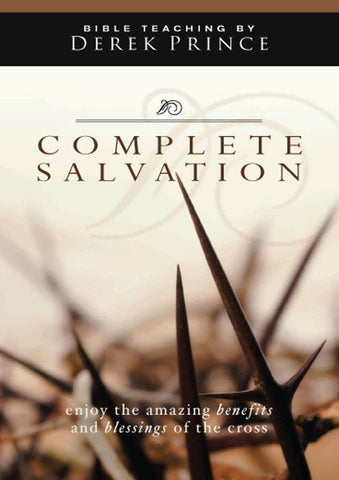 Complete Salvation And How To Receive It DVD