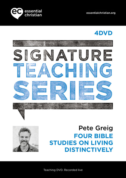 Living Distinctively: Signature Teaching Series 4 Talk DVD Pack