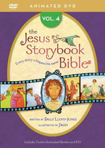 Jesus Storybook Bible Animated Volume 4 DVD - Lloyd-Jones, Sally - Re-vived.com