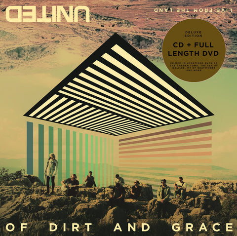 Of Dirt And Grace: Live From The Land CD+DVD - Hillsong United - Re-vived.com