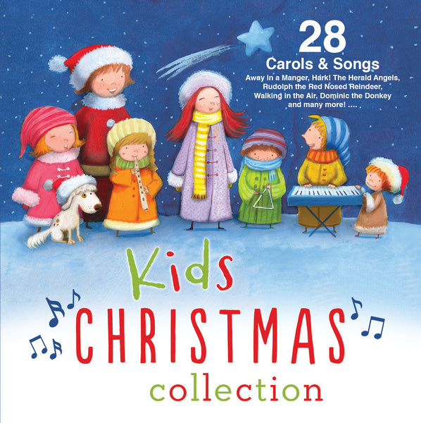 KIDS CHRISTMAS COLLECTION - 28 CAROLS & SONGS - Various Artists - Re-vived.com
