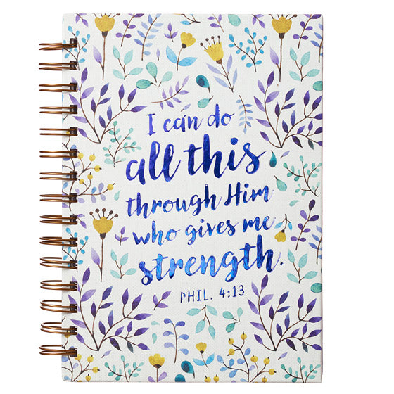 Wirebound Journal: Philippians 4:13