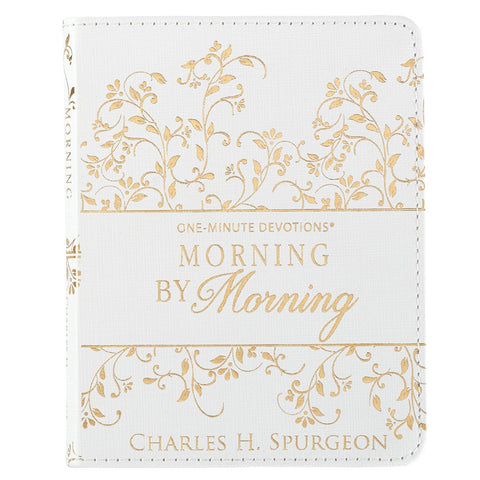 One Minute Devotions: Morning By Morning Lux Leather