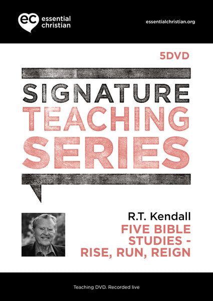 Rise Run Reign: Signature Teaching Series 5 Talk DVD Pack