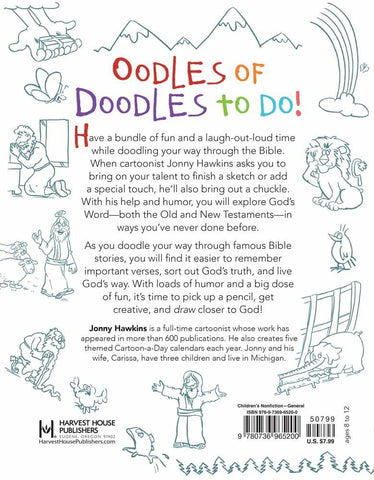 Doodle Through The Bible For Kids - Jonny Hawkins - Re-vived.com - 2