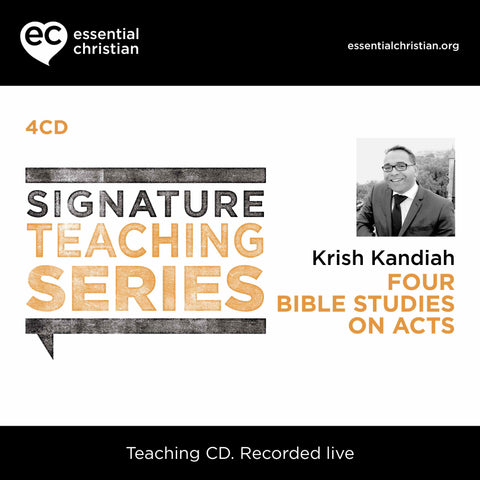 Acts: Signature Teaching Series 4 Talk CD Pack