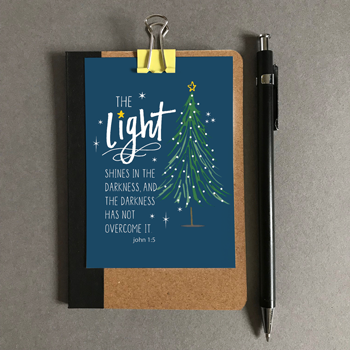 The Light - Christmas Mini Card
