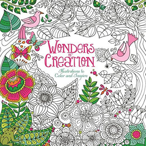 Wonders of Creation Colouring Book