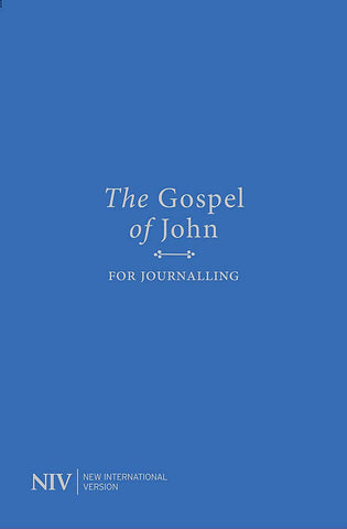 NIV Gospel of John for Journalling