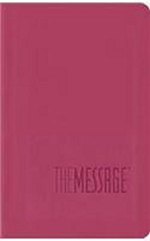 The Message Bible, Compact, Imitation Leather, Pink