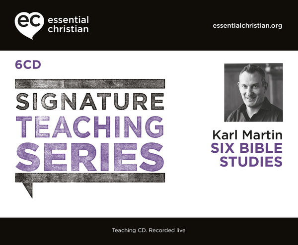 Six Bible Studies: Signature Teaching Series 6 Talk Audio CD Pack